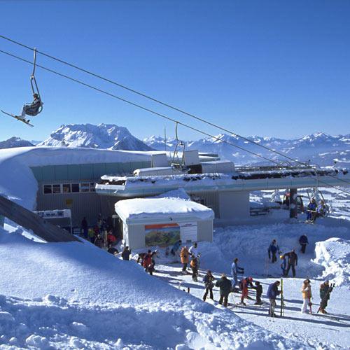 Kössen ist auch ein tolles Wintersportzentrum