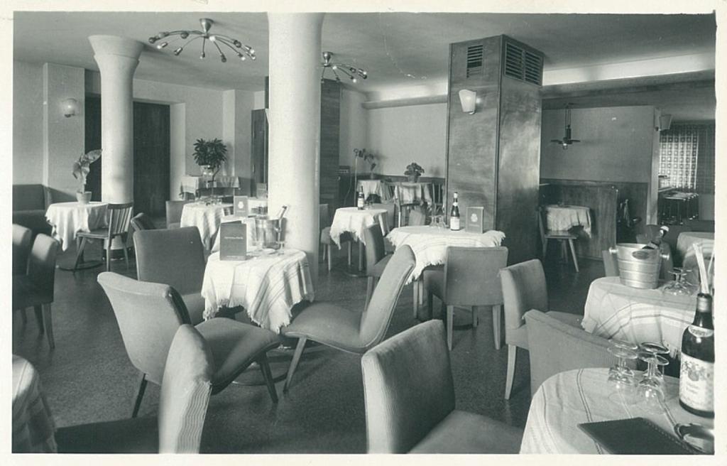 """Ein Blick in das """"Hotel Hochfirst"""" 1951."""