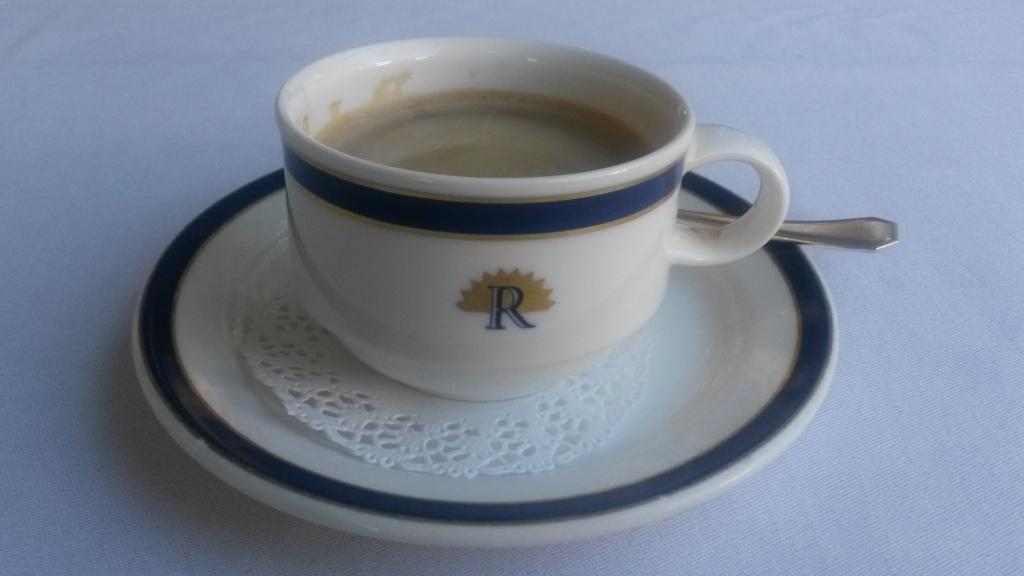 Wer konnte beim ersten Kaffee im Trofana Royal in Ischgl ahnen, was für ein unglaublicher Tag noch auf uns warten würde?