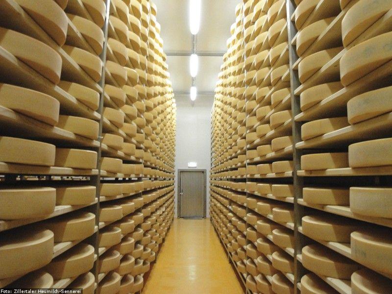 Käse aus dem Zillertal: Hier macht Regionalität absolut Sinn (Foto: Zillertal Heumilch-Sennerei)