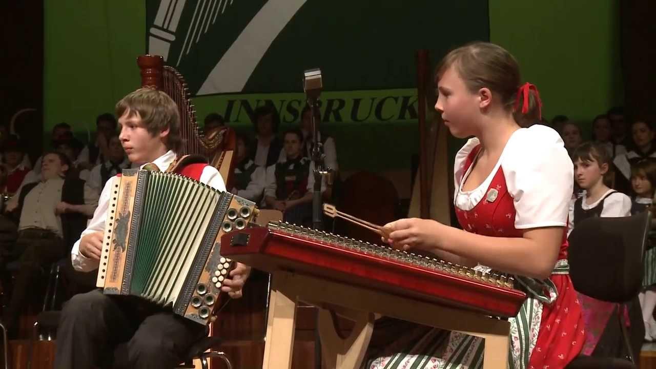 Auch die Jugend hat beim Alpenländischen Volksmusikwettbewerb ein gewichtiges Wörtchen mitzureden...