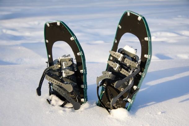 Stehen schon bereit und freue sich aufs Zillertal: Die Schneeschuhe!