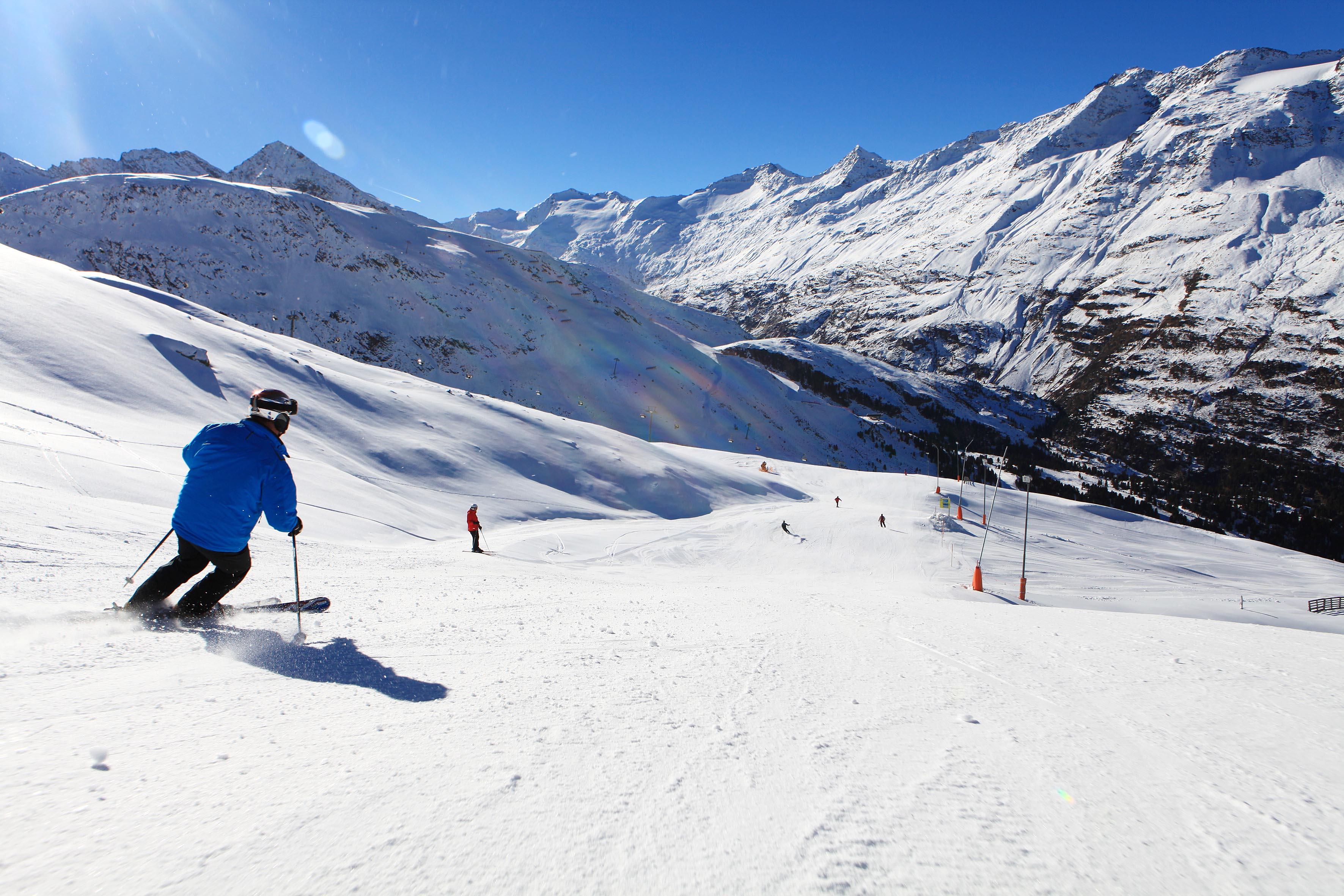 Bald würde es wieder so sein: Skifahren in Obergurgl-Hochgurgl. Doch zuerst noch mal das Winteropening überstehen...