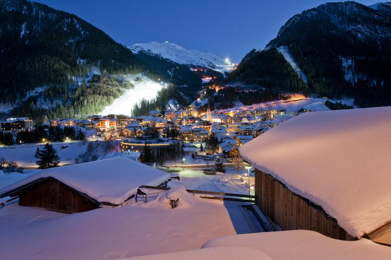 Generell mit Schnee sehr ansehnlich und somit auch ein guter Ort für eine Weihnachtsfeier: Ischgl!