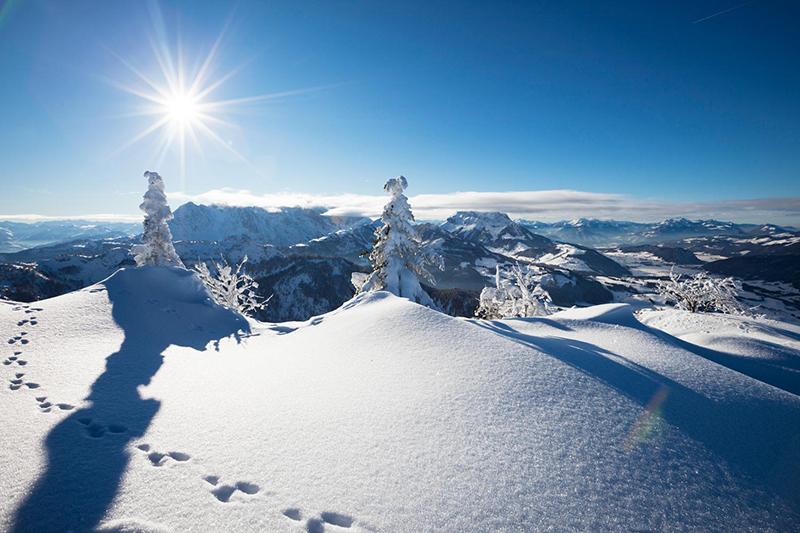 Der Kaiserwinkl im Winter: Lieber Natur oder doch lieber Häuserschluchten wie in New York?