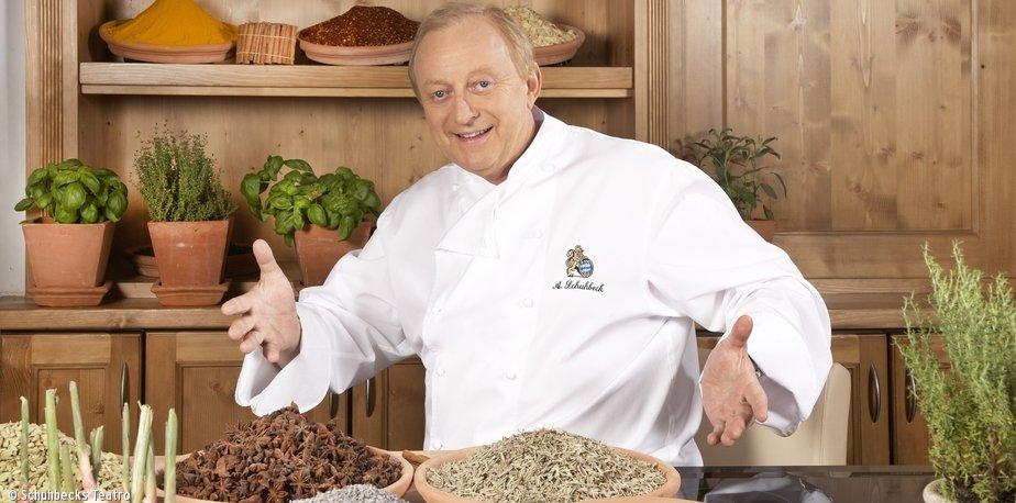 Definitiv auch jemand, der in kulinarischer Hinsicht Bodenhaftung bewahrt hat: Alfred Schuhbeck.