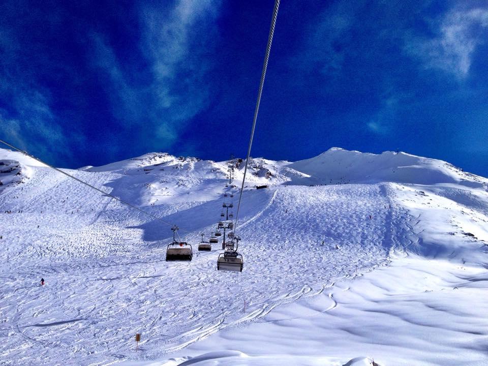 Schnee in Obergurgl!
