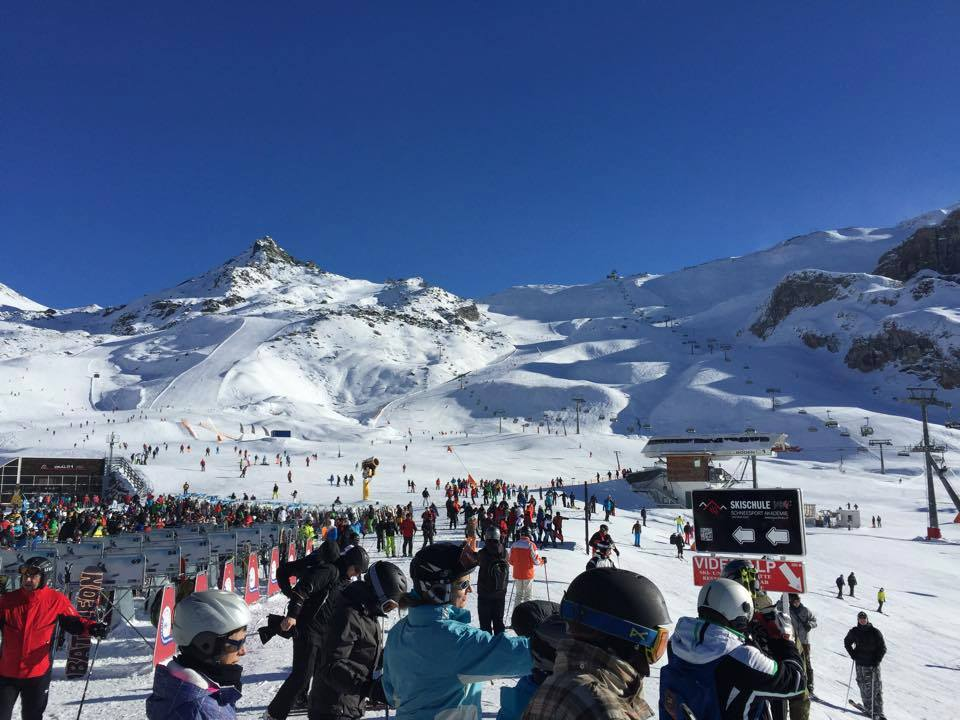 Es hat sich eröffnet: Die Wintersaison in Ischgl ist in vollem Gange.