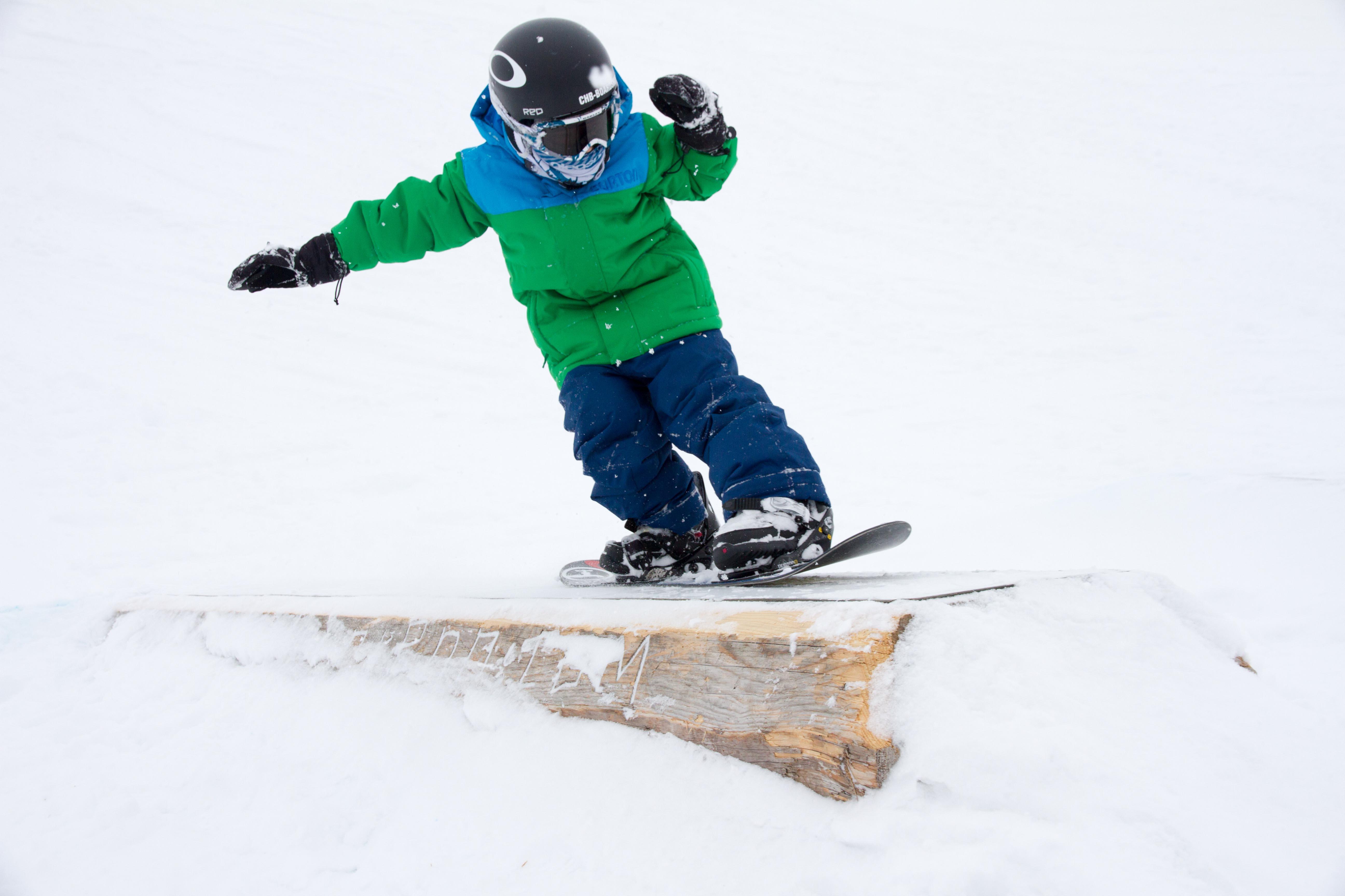 Was Hänschen nicht lernt - hätte ich schon früher mit dem Snowboarden beginnen sollen (Bild: Tirol Werbung)