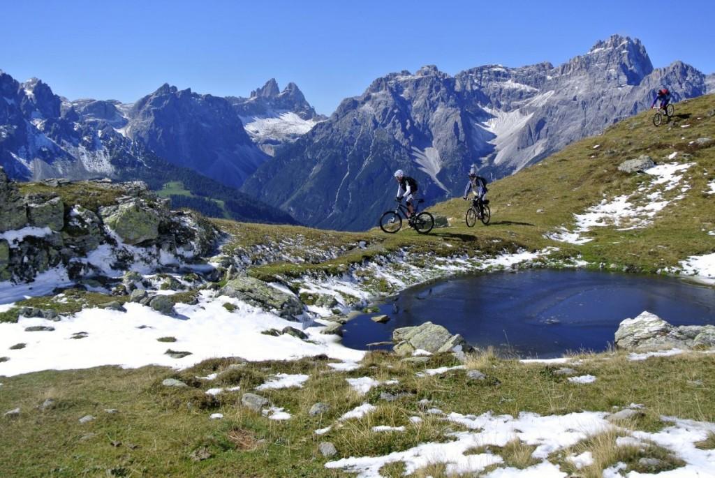 Was So schön kann Mountainbiken sein.will man mehr?