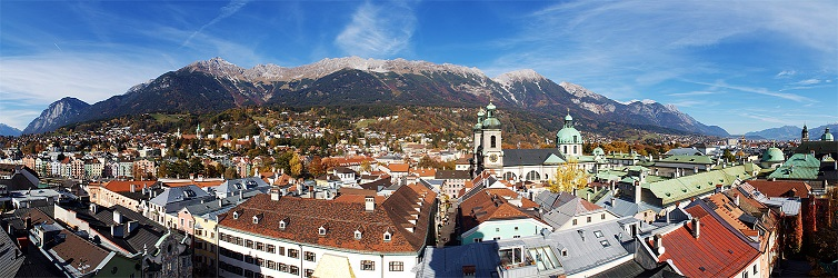 Eine wunderschöne Stadt, die Berge quasi vor der Haustüre.
