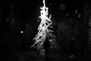 Weihnachtsbaum im Swarovski-Look